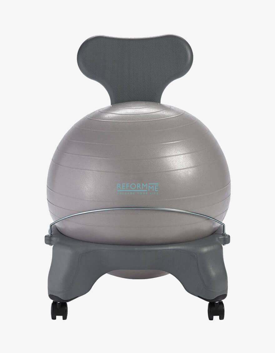 Balance ball chair ReformMe Fit-Chair® Grey & Fit-Chair® Grey - ReformMe