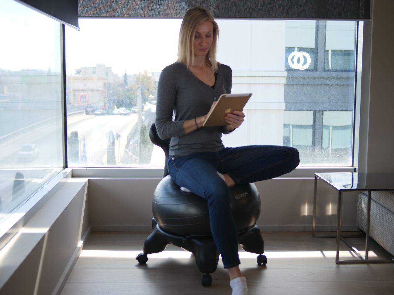 Exercise Ball Chair Benefits Of Use